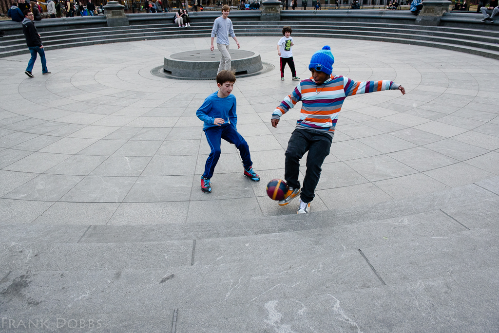 Football in the fountain -20150316 - 2471