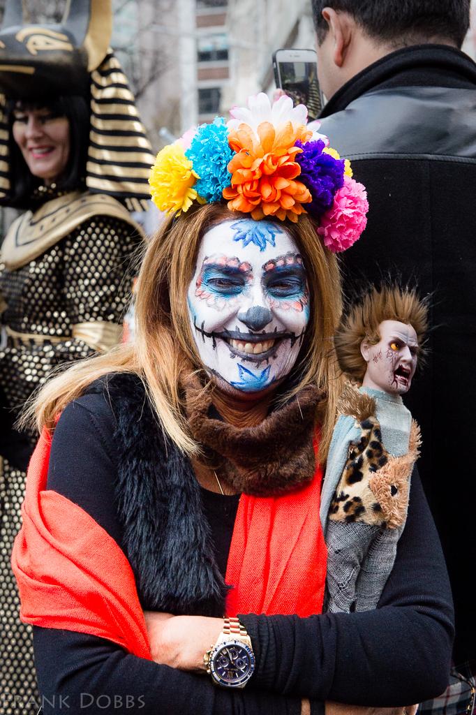 Halloween parade - posed shots -20151031 - 5446
